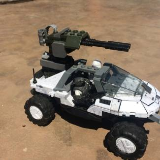 Image of: UNSC ant-air warthog