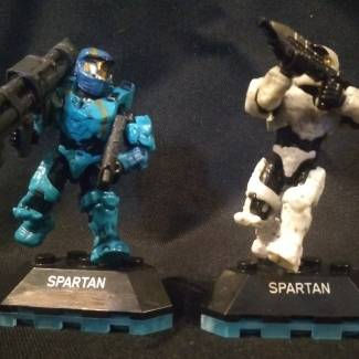 Image of: Custom Mark IVs, and stands for them.