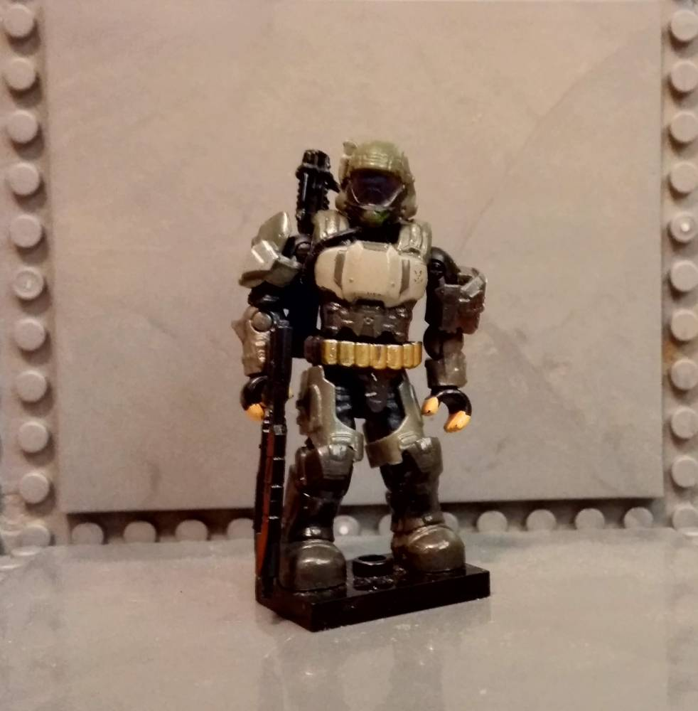 Image of: Custom ODST 'Derrick Read'