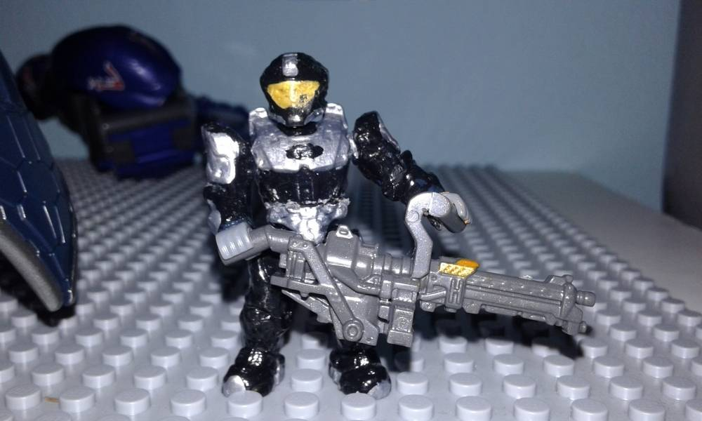 Image of: @ShlubCustoms #customNMPDcontest Spartan NMPD last stand