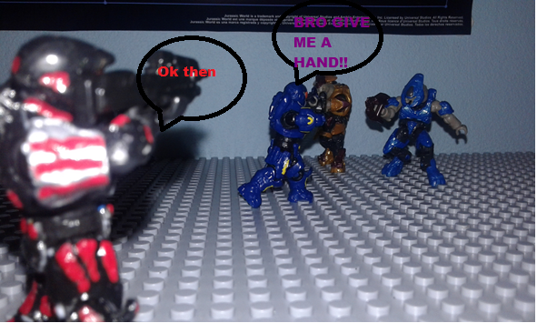 Image of: Halo Reach funny moments Mission : Long Night of Solace part 3