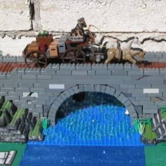 Image of: OId Stone Bridge