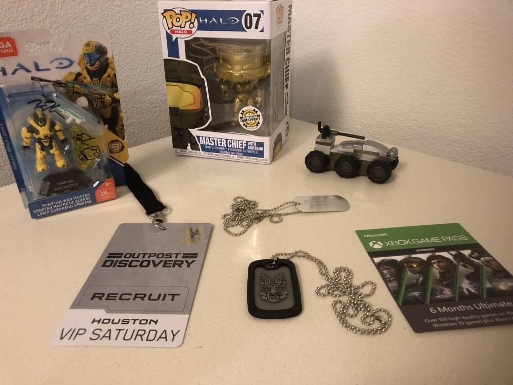 Image of: Halo: Outpost Discovery Loot!