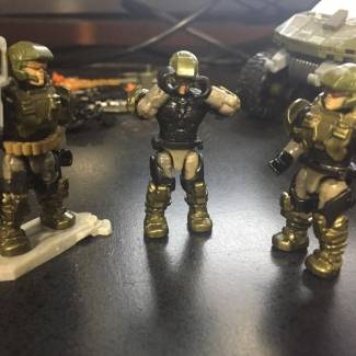 Image of: When your marine defense comes with a broken torso.