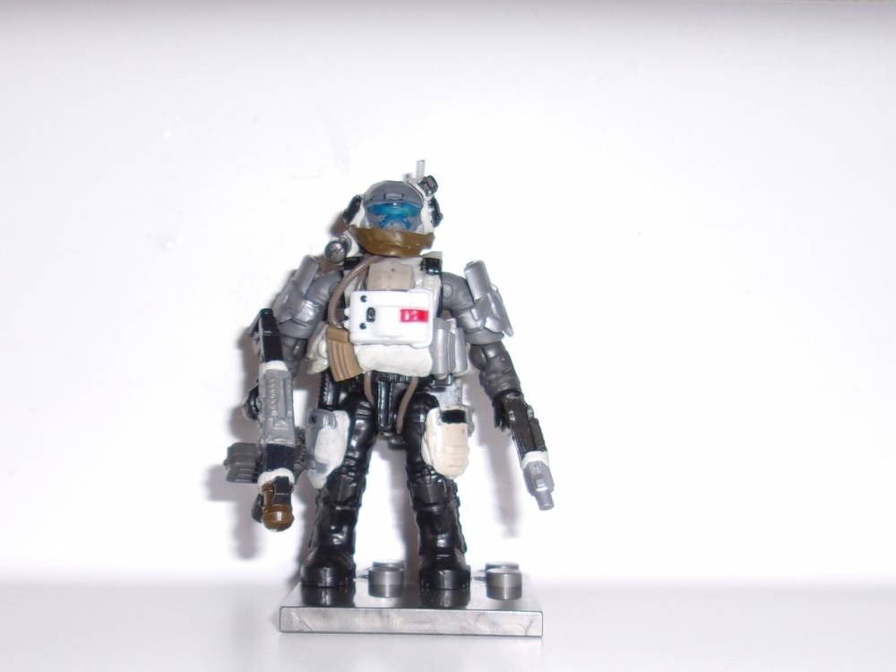 Image of: Titanfall Pulse Blade Pilot WIP 1