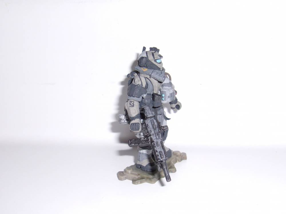 Image of: Titanfall Pulse Blade Pilot Finished!