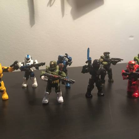 Image of: Newest members of Fireteam Capricorn! (With friends)