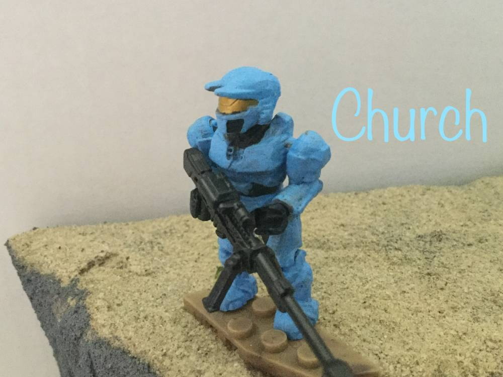 The Reds and Blues of Blood Gulch