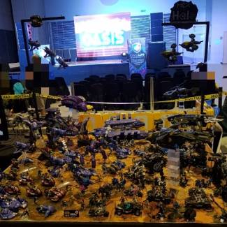 Image of: Bricktober Display for MCX Halo