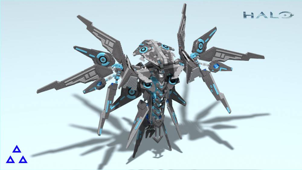 Image of: Guardian Halo 5 After rendering