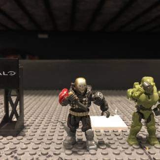 Image of: #FavouriteFigures Emile A239 and Mark IV Spartan (Halo Wars 2)
