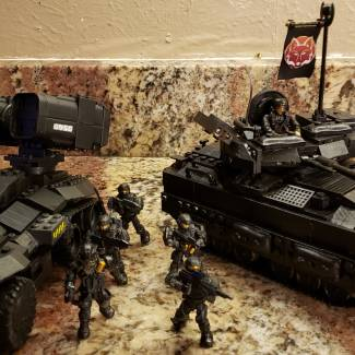 Image of: FOX BATTALION IFV and AA wolverine  #Tank build off!