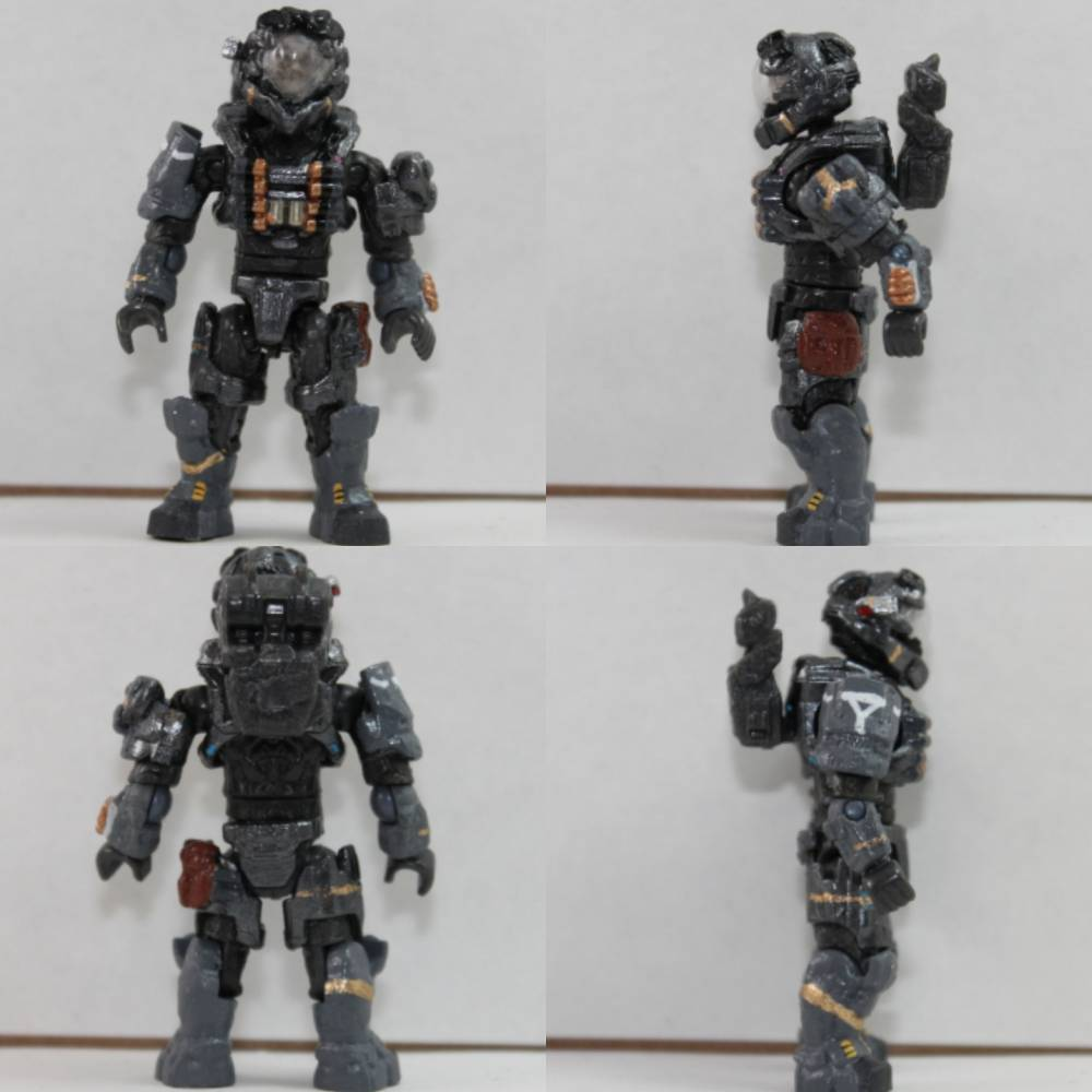 Image of: Haunted spartan and AR of reach