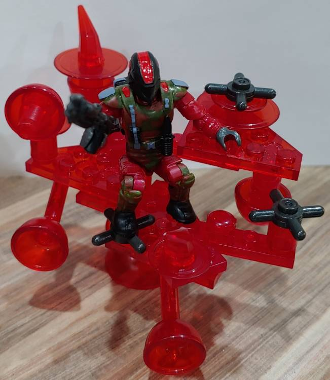 Image of: Red Trooper mobile weapons platform