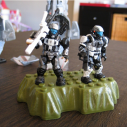 Arctic themed ODST Sniper Team customs.