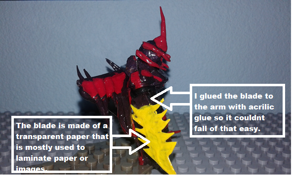 Image of: Behind the series and tutorials part 2: How i make blade arms?