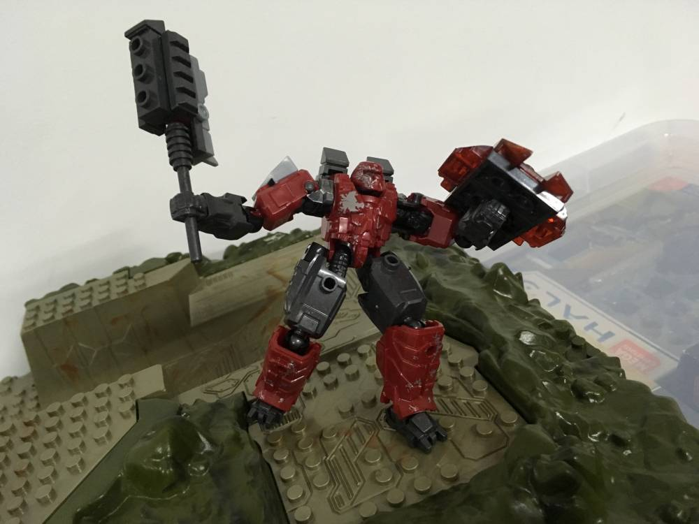Image of: Mech fight~