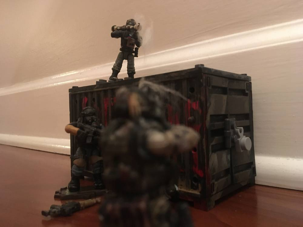 Image of: Custom figure Raid Pt.1