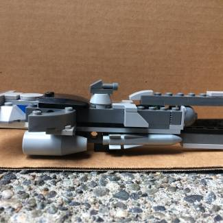 Image of: Custom UNSC cruiser
