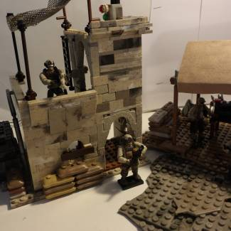 Image of: Desert Outpost Building