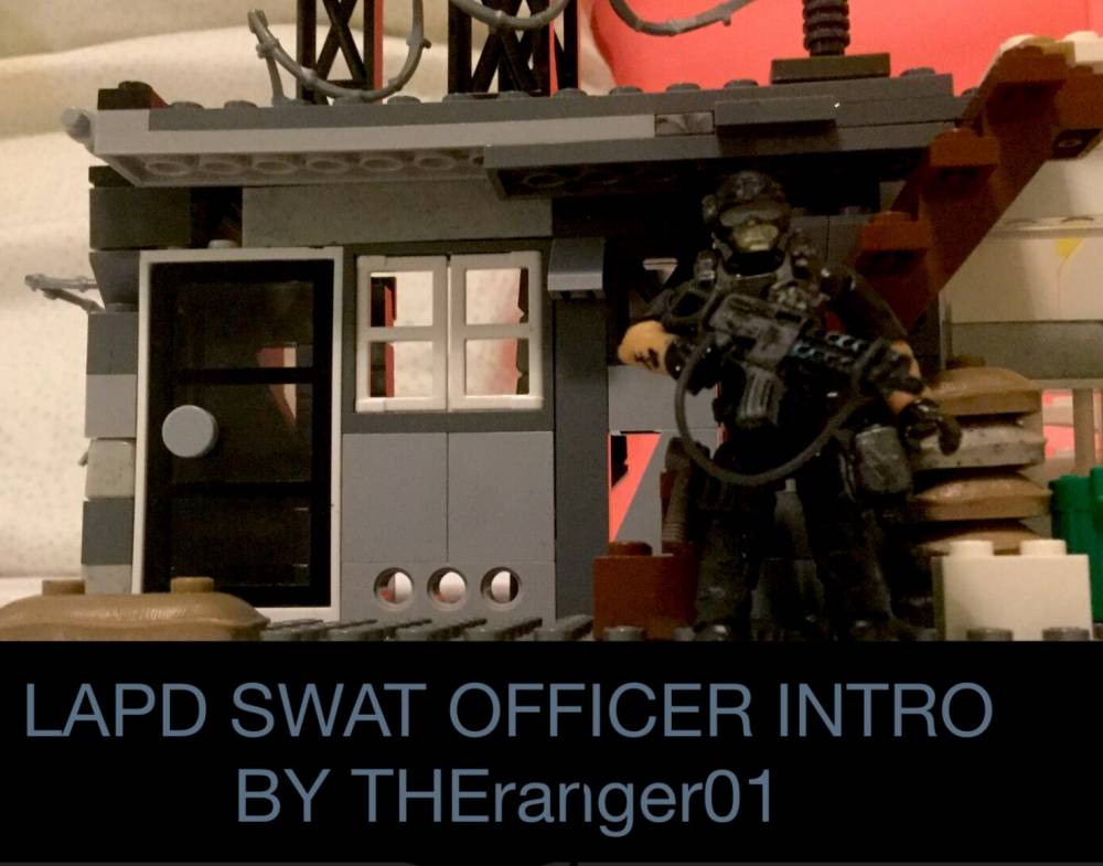LAPD S.W.A.T figure intro stop motion video