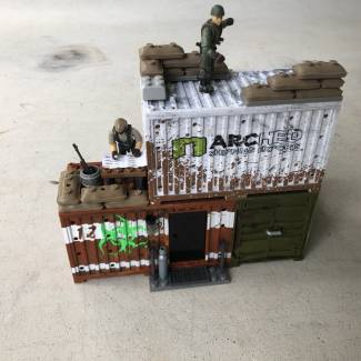 Image of: Scrapper's Border Post MOC