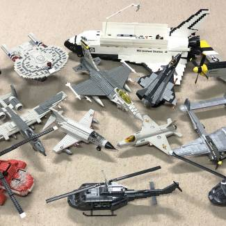 Image of: Vintage ProBuilder Flying Forces