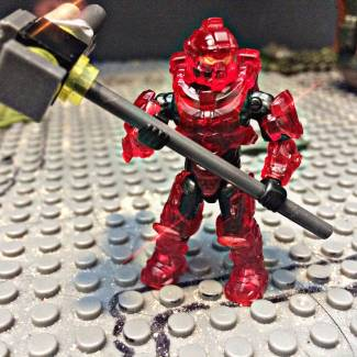 Image of: Tremble before the power of my clear, see-through armour!