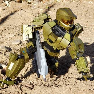 Image of: Masterchief in action