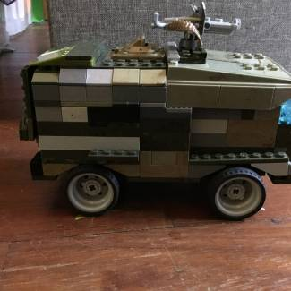 Image of: UNSC Buffalo Custom Vehicle