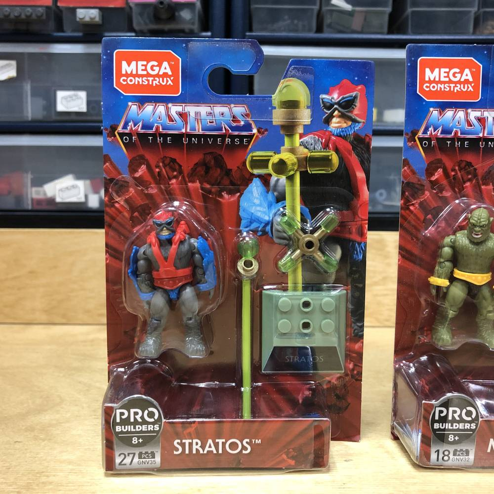 Image of: MCX Heroes Masters of the Universe in Package Look