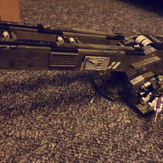 Image of: UNSC Mass Driver Cannon