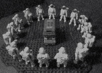 ASTRONAUT CULT FROM SPACE
