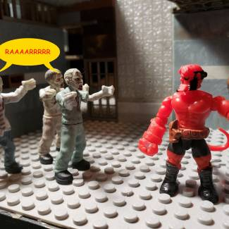 Image of: Hellboy funny