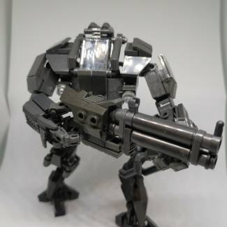 Image of: Grey mech