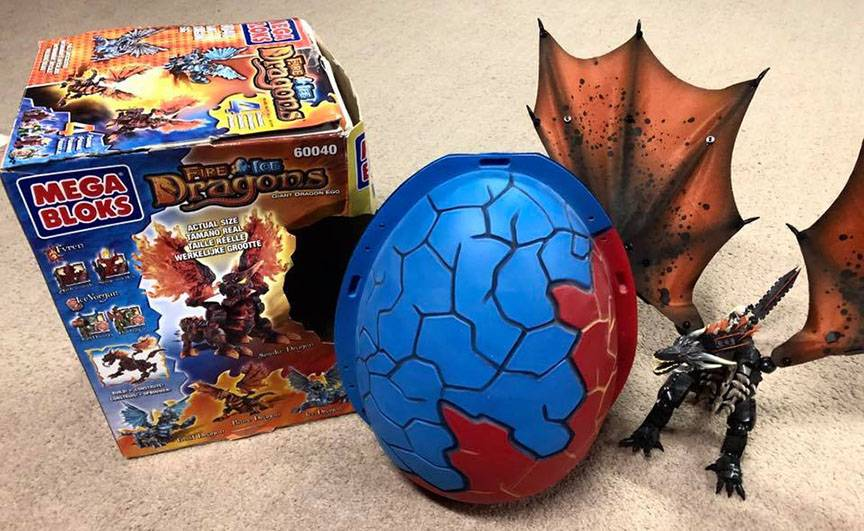 Image of: Vintage Giant Dragon's Egg