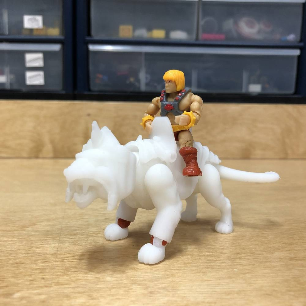Image of: Inside the MCX Design Center: Masters of the Universe Battle Cat