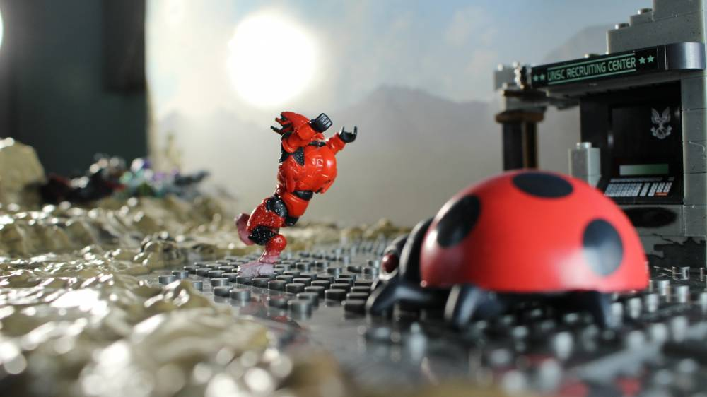 Image of: Attack of the Killer Mutant Lady Bug!
