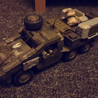 Image of: UNSC MT-88TC Ridgeback Cargo Transporter (Part 1)