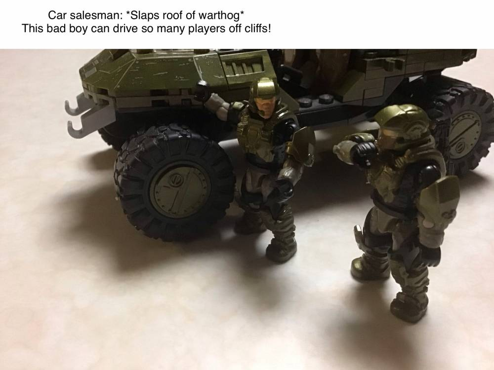 What goes on in UNSC garages