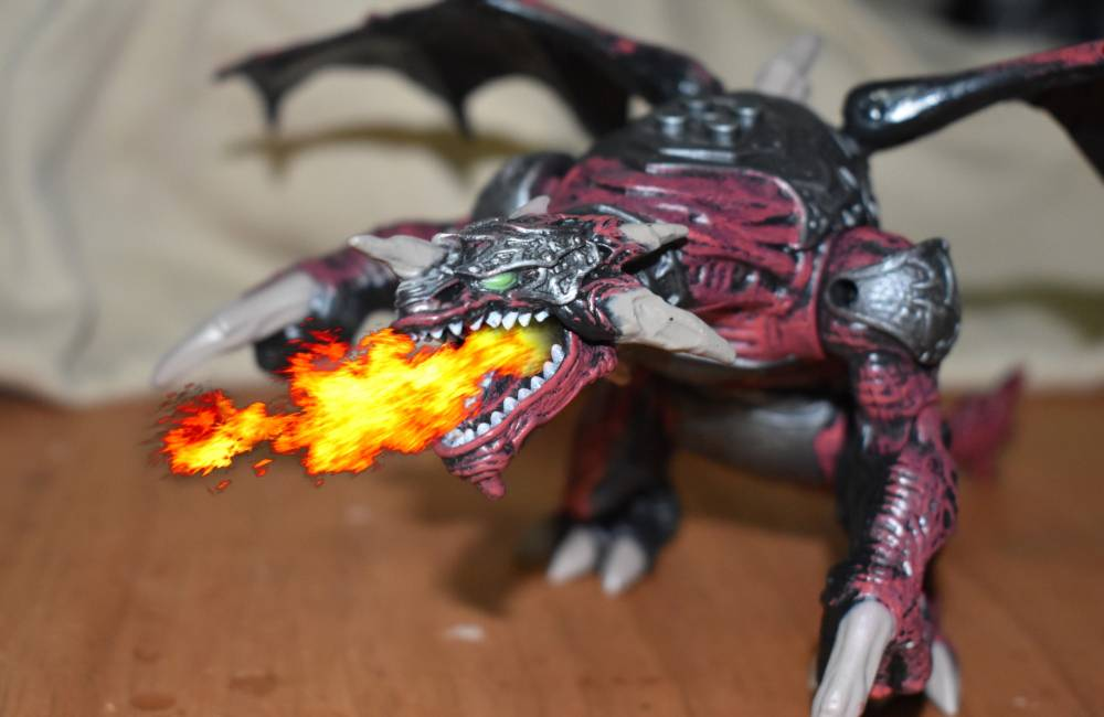 Image of: Review - 9691 Clawdagger - Dragon from 2006