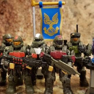 Image of: Revamp custom odst fire team and ai Aura
