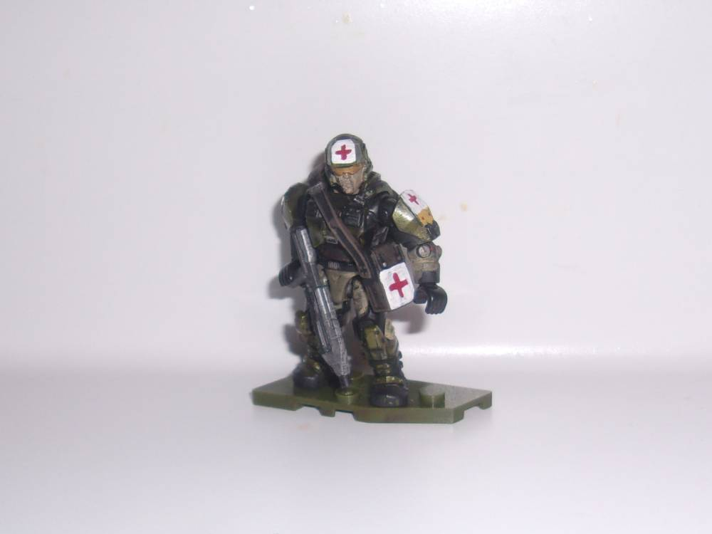 Image of: Halo 3 Marine Revamp: Corpsman (Part 1)