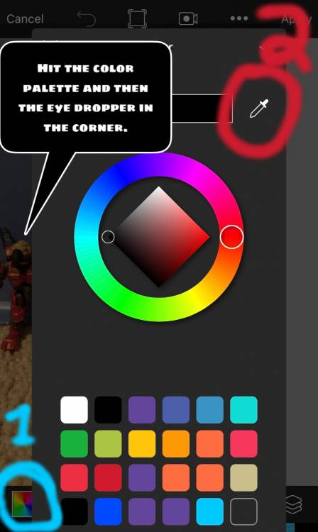 Image of: How to blur out logos