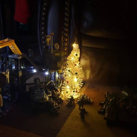 Image of: Christmas time at the sabre launch center Christmas Contest: By Gregor and @JoeFilms