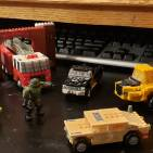 Image of: Ancient ancient mega blok micro brick vehicles and fire house