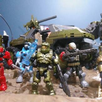 Image of: Master chief and the boys