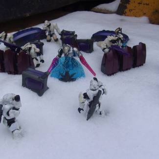 Image of: Covenant Snow Outpost: Impending Attack?