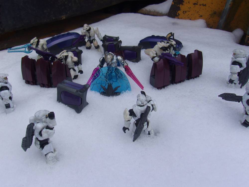Covenant Snow Outpost: Impending Attack?