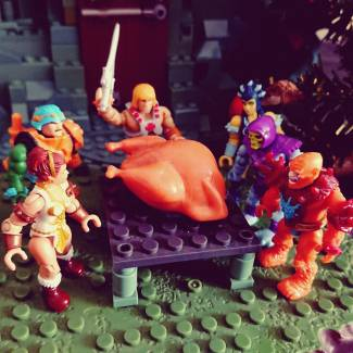Image of: MotU Christmas